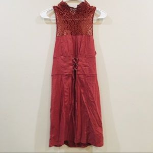 NWT Free People Corset/Lace Dress
